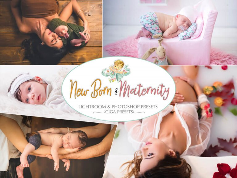 New Born & Maternity Presets