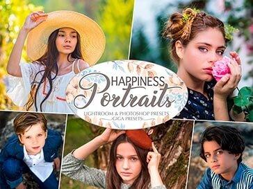 happiness portraits