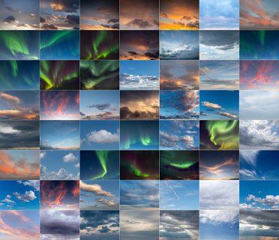 Sky Overlay vol2