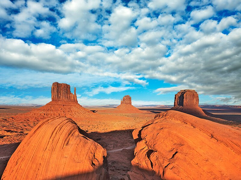 monument valley sky overlay